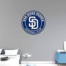 San Diego Padres Fathead Team Logo Wall Decal 71 99 San Diego Padres Logo Wall Padres
