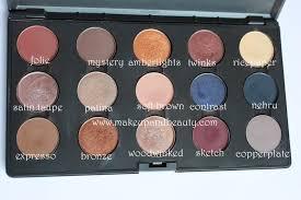 mac eyeshadows for indian bridal makeup