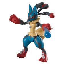 Pokémon Mega Lucario Action Figure | Mega lucario, Juguetes de pokemon