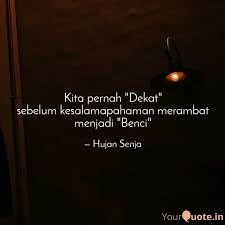 hujan senja quotes yourquote