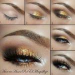gold eye makeup ideas 2020 ideas