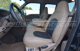 ford superduty leather interiors
