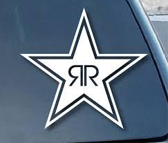 Rockstar Energy Drink Car Window Vinyl Decal Sticker Mymonkeysticker Com