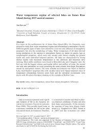 pdf water rature regime of