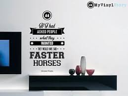 Henry Ford Quote Inspirational Wall Decal Home Decor Typography 30 X 16 Inches Ebay