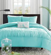 turquoise bedding decor by color