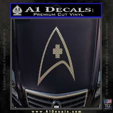 Star Trek Decal Sticker Medical Decal Sticker A1 Decals