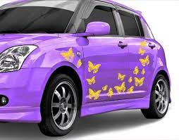 Butterfly Car Decal Set Style And Apply