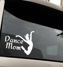 Vinyl Decal Auto Decal Dance Mom Car Decal Laptop Window Etsy