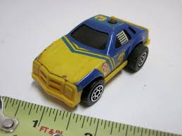 Tonka 3 Race Car Friction Push Button Toy Blue Yellow Decals Vehicle Japan 1817431928