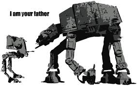 Banksy I Am Your Father Wall Decal Canvas Art Rocks