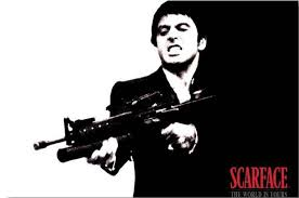 Custom Scarface Poster Bedroom Decor Fashion Al Pacino Scarface Stickers Al Pacino 0073 24x36 Inch Silk Poster Wall Decor Removable Stickers For Walls Removable Vinyl Wall Decals From Cyman 11 05 Dhgate Com