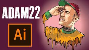 cartoon adam22 adobe ilrator