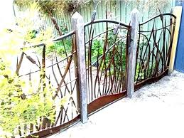 Image Result For Metal And Wood Art Fence Metal Garden Fencing Metal Fence Panels Garden Fence Panels