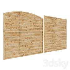 3d Models Fence Wooden Fence