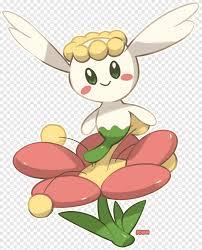 Pokémon X and Y Flabébé Pokédex Art, takeo strong, food, flower ...