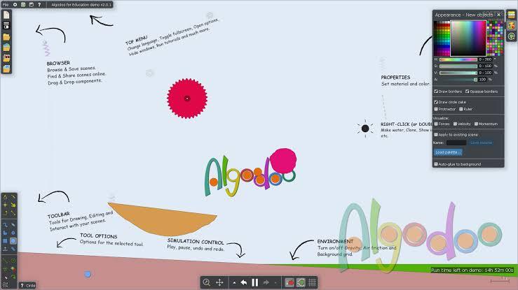 Algodoo: Simulación Interactiva de Experimentos de Física
