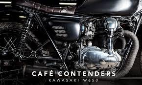 café contenders the kawasaki w650