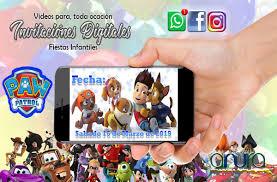Invitacion Video Digital Bob Esponja De Cumpleanos 3 990 En