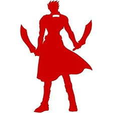 Amazon Com Fate Stay Night Anime 5 5 Saber Silhouette Vinyl Decal Sticker For Laptop Car Window Tablet Skateboard White Color Computers Accessories