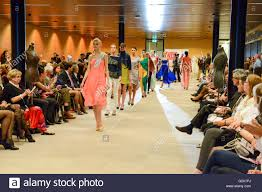 Lugano, 22 maggio 2016: people who are seeing a fashion show at ...