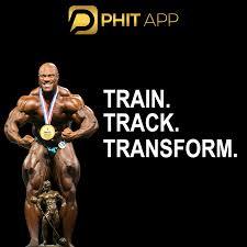 professional bodybuilder phit app
