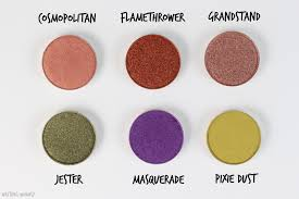 my makeup geek eyeshadow collection