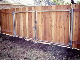 Metal Gate Frame For Wood Fence Canada See All Our Fences Aaa Fence Charleston Wood Gates Dfw Fence Contractor Designer Fence Steel Frame Wooden Swing Gates Omega Metalworks Custom Wood Fence