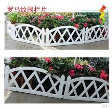 The New Plastic Fence Fence Small Garden Fence Railing Fence To Insert Ultra Soft Free Joining Together Fence Gate Fence Wirelessfence Accessories Aliexpress