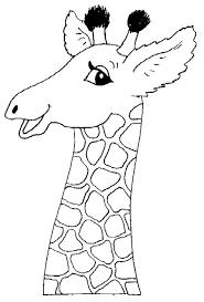 Dieren Printen 213 Giraffe Kunst Kleurplaten En Dieren Kleurplaten
