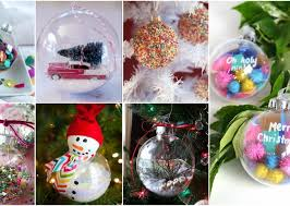 clear ornaments ideas that don t cost much