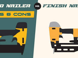 brad nailer vs finish nailer which is