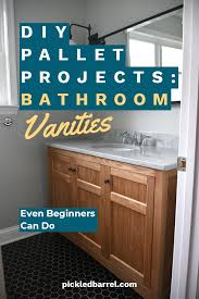 diy pallet projects bathroom vanities
