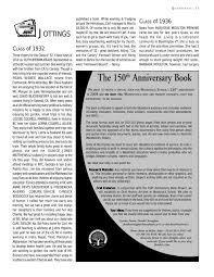150th anniversary book woodstock