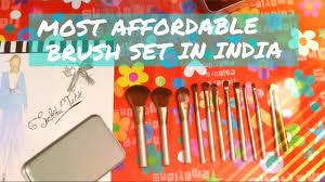 most affordable makeup brush set in
