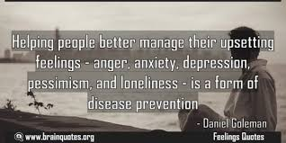 helping people better manage their upsetting feelings anger
