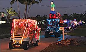 capri christmas eve golf cart parade
