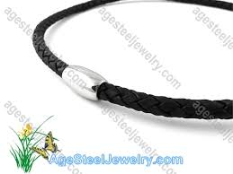 leather necklaces from china age steel
