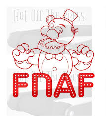 Fnaf Freddy Svg Dxf Files For Silhouette For Cricut Vector Etsy