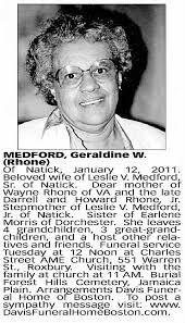 Geraldine West Rhone Medford obit - Newspapers.com