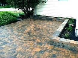 rubber patio stones home depot
