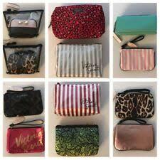 victoria s secret clear makeup bags