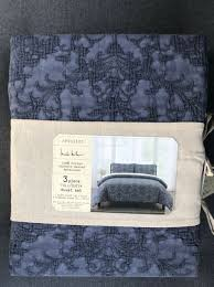 nicole miller home duvet cover 3 piece