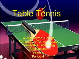 PPT - Table Tennis PowerPoint Presentation, free download - ID:3356141