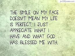 quotes about smile on my face quotes