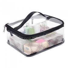 pvc transpa cosmetic bags women s