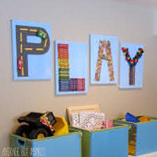 Creative Play Art For The Playroom Average But Inspired Playroom Wall Decor Kids Wall Decor Playroom Art