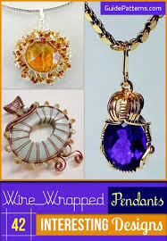wire wrapped pendants 42 interesting
