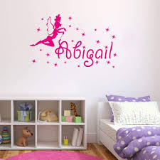 Buy Personalized Custom Fairy Pixie Flowers Butterflies Name Vinyl Sticker Decal Small 12 5 Quot X 9 Quot In Cheap Price On M Alibaba Com