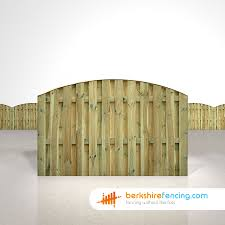 Double Sided Picket Fence Panels 4ft X 6ft Natural Berkshire Fencing